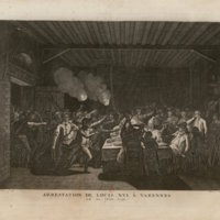 Arrest of Louis Capet at Varennes, June 22, 1791
