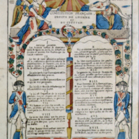 French Constitution, Rights of Man and Citizen