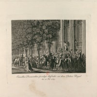 Speech in the Garden of the Palais–Royal