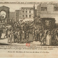 Arrest of the King at Varennes, 22 June 1791