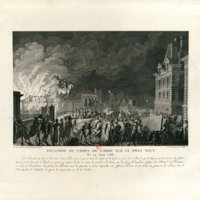 Burning the Guardhouse on the Pont Neuf