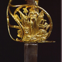Sword Hilt with Revolutionary Icons—Liberty