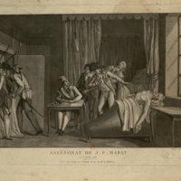 Assassination of J. P. Marat