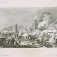 Battle for and Taking of Ratisbon, April 23, 1809