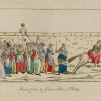 Vanguard of Women going to Versailles
