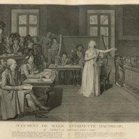 Trial of Marie Antoinette of Austria