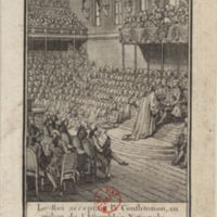 The King Accepting the Constitution amid the National Assembly, 14 September 1791