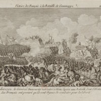 French Victory at the Battle of Jemmappes