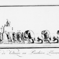 Transportation of Voltaire to the French Panthéon, 8 July 1792