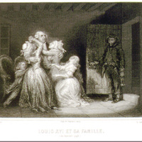 Louis XVI and His Family (20 January 1793)