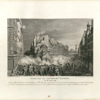 Fusillade in the Faubourg St. Antoine, 28 April 1789