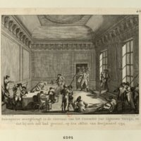 Robespierre Laid on the Table of the Committee of Public Safety