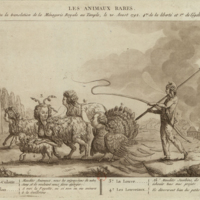 Rare Animals; or, the Transfer of the Royal Family from the Tuileries to the Temple. Champfleury, 1792